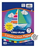 """Pacon Tru-Ray Assorted Colors Smart Stack, 12"""" W x"""