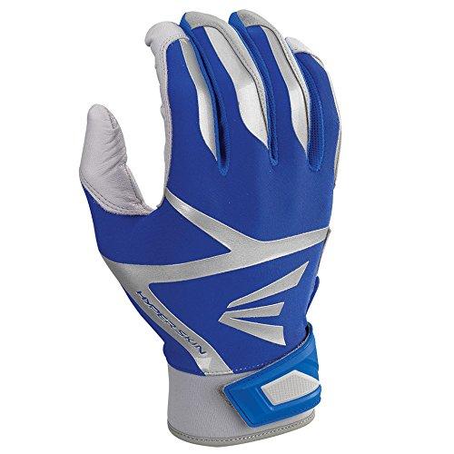 Easton Z7 VRS Hyperskinバッティング手袋。 B01IRVX1U4 XL|Gray/Royal Gray/Royal XL