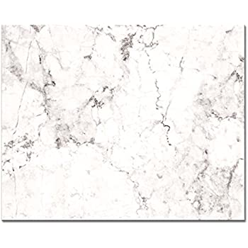 CounterArt 'White Marble' Glass Cutting Board, 15 x 12""
