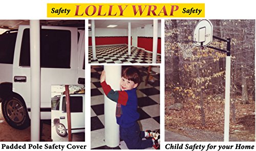 le Safety Cover, Basement Pole Padding, Cushion, Garage Pole Pad, Pole Padding ()