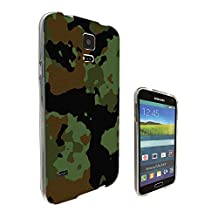 002242 - Army Scene Soldier camouflage. cool Design Samsung Galaxy S5 / Galaxy S5 Neo Fashion Trend CASE Gel Rubber Silicone All Edges Protection Case Cover