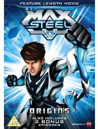 Max Steel - Origins The Movie [DVD] [Reino Unido]: Amazon.es: Cine y Series TV