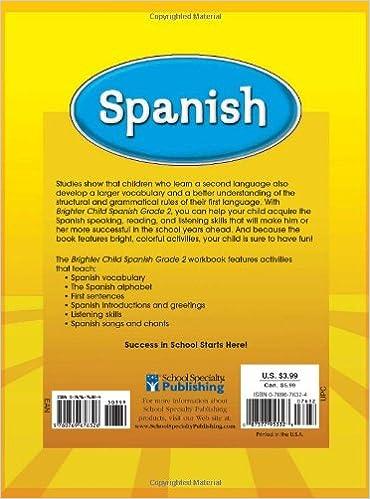 Spanish, Grade 2 (Brighter Child Workbooks): Brighter Child ...
