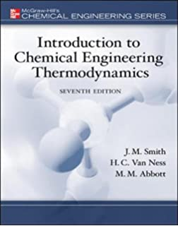 Amazon elementary principles of chemical processes binder introduction to chemical engineering thermodynamics the mcgraw hill chemical engineering series fandeluxe Gallery