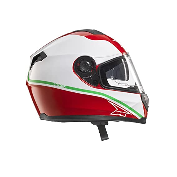 cd2800db AXO Corsair Helmet with Pinlock, Black/Red/White, Size: XS: Amazon.co.uk:  Car & Motorbike