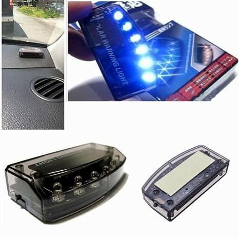 FidgetFidget - Alarma para Interior de Coche, luz Solar, 6 ...