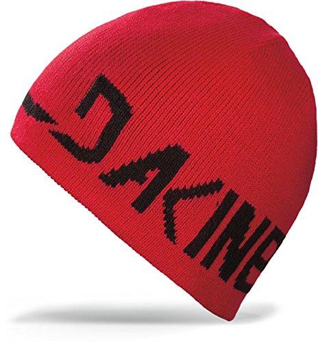 DAKINE 2-Way Reversible Beanie Cardinal, One Size (Logo Ride Beanie)