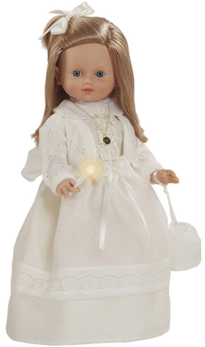 5034a4c4e760 Berbesa - Muñeca Carol Carol Carol vestida de primera comunión con rebeca y  vela