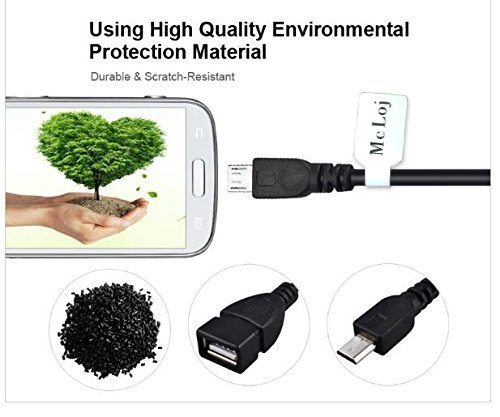 Otg For Kindle Fire Otg Cable Micro USB For Android Host Cable.