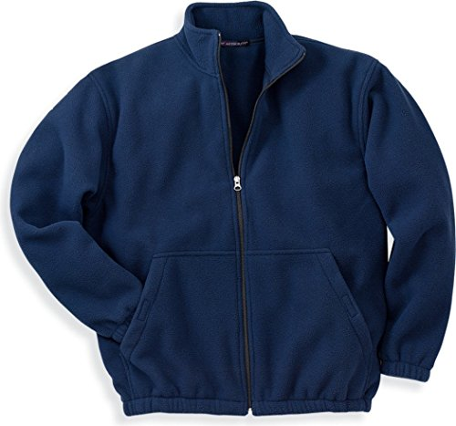 Port Authority Men's R-Tek Fleece Full-Zip Jacket. JP77 S Navy