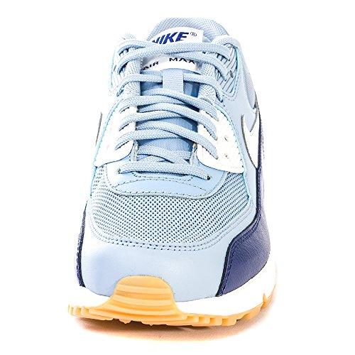 Nike Air Max 90 616730, Damen Low-Top Sneaker Grau (Bl Gry / Pr Pltnm-Lyl Bl-Smmt Wh)
