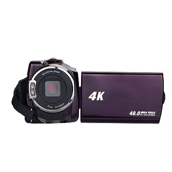 Ksruee videocámara videocámara 4 K Videocámara 48.0 MP 60 FPS Ultra HD cámaras digitales y grabador