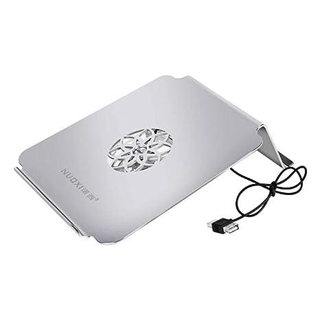 Soporte de enfriamiento portátil de Doble ángulo del cojín de enfriamiento del Ordenador portátil de 17