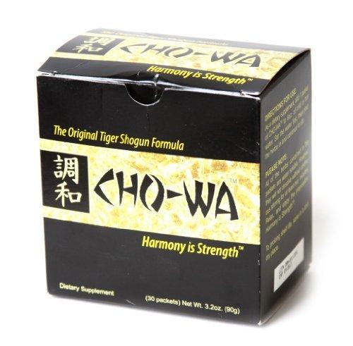 Dietary Supplement Formule CHO-WA origine Tiger Shogun