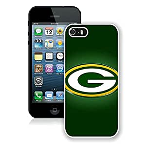 Beautiful Designed Case With Green Bay Packers 21 White For iPhone 5S Phone Case