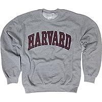 Harvard University Sweatshirt - Officially Licensed Arched Block Crewneck