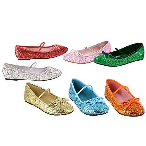 Blug Gold Ballerina Sparkle Shoes Child f0UwwI