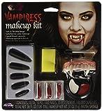 Fun World Unisex-Adult's Vampiress Makeup Kit Halloween Accessory, Multi, Standard