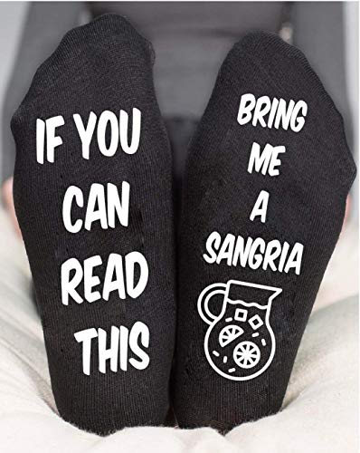 Funny Socks For Women's Sangria Birthday Gifts Tropical Party for $<!--$15.00-->