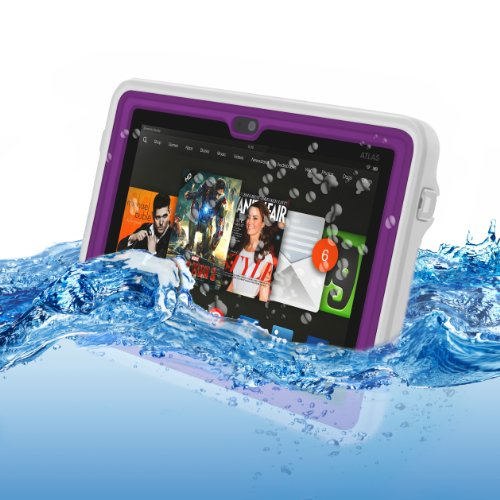 "Atlas Waterproof Case for Kindle Fire HDX 7"" by Incipio, Purple"