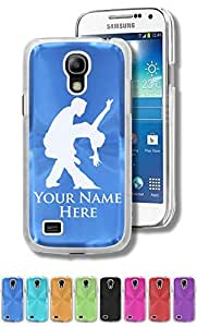 Personalized Case/Cover for Samsung Galaxy S4 Mini - TANGO DANCERS - Engraved for FREE