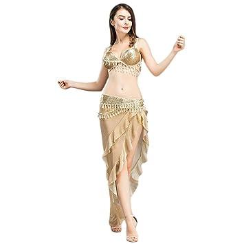 8a890ab92 ROYAL SMEELA Conjunto de Traje de Danza del Vientre Traje de Faldas ...