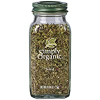 Simply Organic Simply Organic Basil Large Glass 15g, 15 g