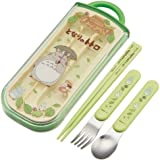 Spoon fork chopsticks trio set My Neighbor Totoro walk