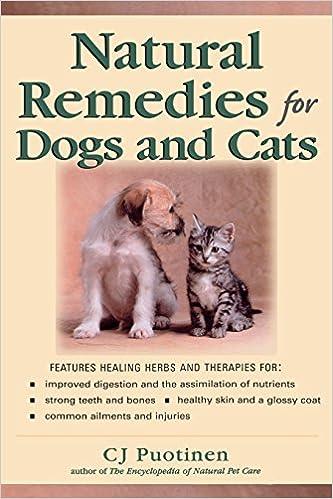 Descargar Libros Gratis Natural Remedies For Dogs And Cats PDF Gratis