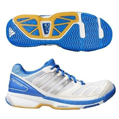 Adidas BT Feather Badminton Indoor Shoes white/black, EU Shoe Size:EUR 38.5