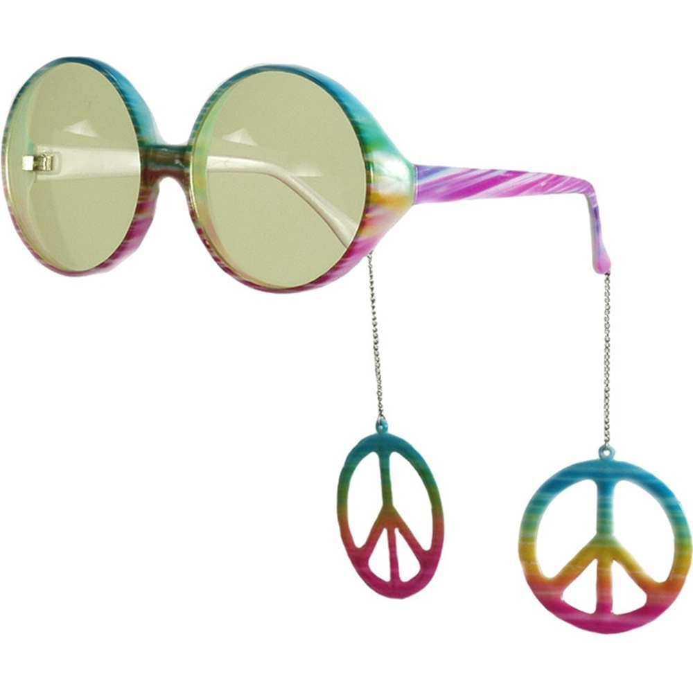 elope Peace Sign Danglers Glasses