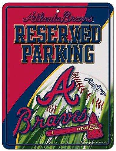 MLB Atlanta Braves Parking Sign
