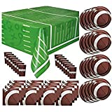 Football Game Day Party Supplies Pack Bundle for 16