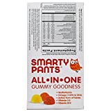 SmartyPants Kids Complete Daily Gummy Vitamins: Gluten Free, Multivitamin & Omega 3 Fish Oil (DHA/EPA Fatty Acids), Iodine Supplement, Vitamin D3, Methyl B12, Non-GMO, 15 Count (15 Day Supply)