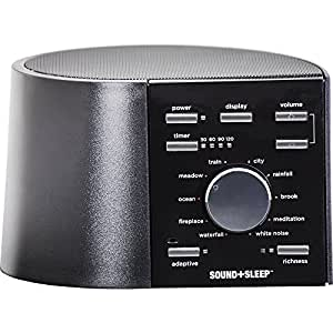 Adaptive Sound Technologies - Sound+Sleep, Sleep Therapy System, Black
