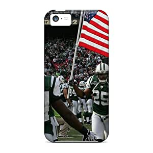 Premium New York Jets Heavy-duty Protection Case For Iphone 5c