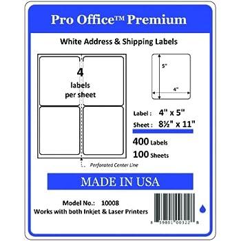 Amazon Com Pro Office Premium 400 Self Adhesive Shipping