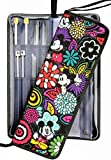 Knitting Needle Case Organizer Bag for Straight & Circular Needles, Crochet Hooks & Knitting Accessories