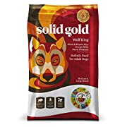 Solid Gold Large Breed Dry Dog Food; Wolf King with Real Bison & Brown Rice; 24lb
