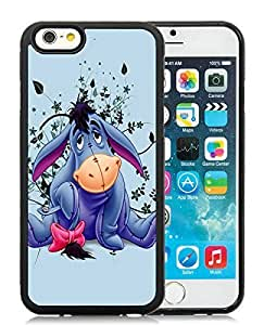 Eeyore Black iPhone 6 4.7 Inch Rubber TPU Phone Cover Case