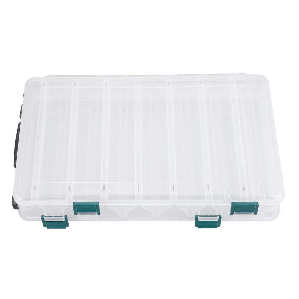 Fischk/öderboxen Doppelseitige Kunststoffk/öderk/öderhalter f/ür Angelzubeh/ör VGEBY1 K/öderboxen