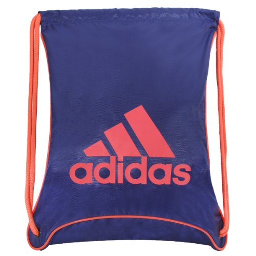 Purple Adidas Soccer Bag - 1