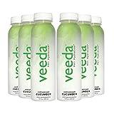 Veeda Holi Hydration, Cold-pressed Cucumber (Organic Juice), 12 fl oz (Pack of 6)