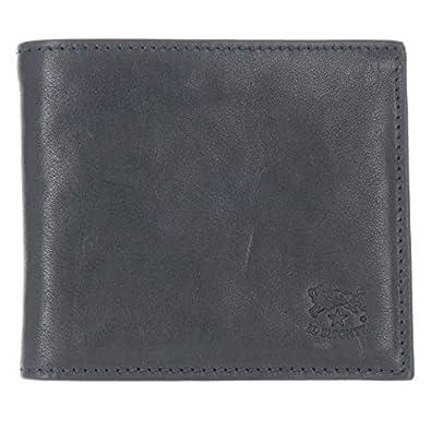 9299a09b9a66 Amazon | IL BISONTE(イルビゾンテ) 財布 メンズ 2 つ折り 小銭入れ付き ...