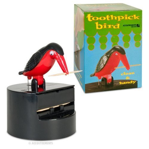 Toothpick Dispenser Bird by Toy Zany