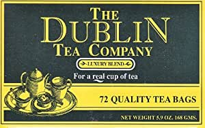 The Dublin Tea Company Luxury Blend - 72 Tea Bags