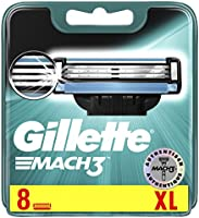 Gillette Mach3 Rasierklingen, 8 Stück, briefkasten