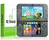 Nintendo 3DS XL Screen Protector, IQ Shield? LiQuidSkin Full Coverage Screen Protector for Nintendo 3DS XL (Nintendo 3DS LL,2015) HD Clear Anti-Bubble Film - with Lifetime Warranty by IQShield