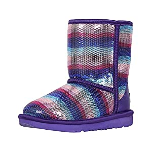 UGG Kids' Classic II Sequin Rainbow Boot