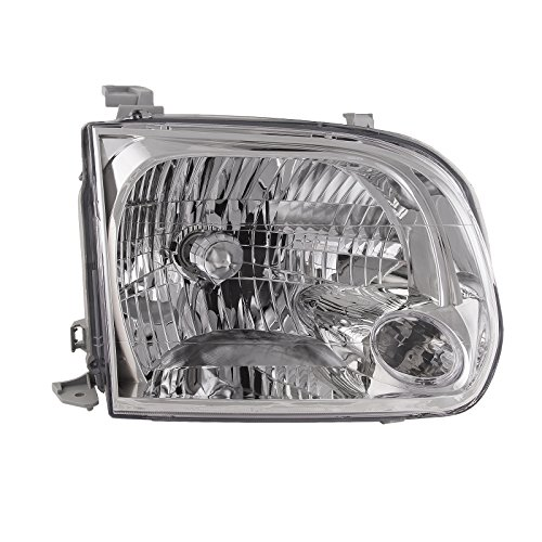 - OE Replacement Toyota Sequoia/Tundra Passenger Side Headlight Assembly Composite (Partslink Number TO2503158)